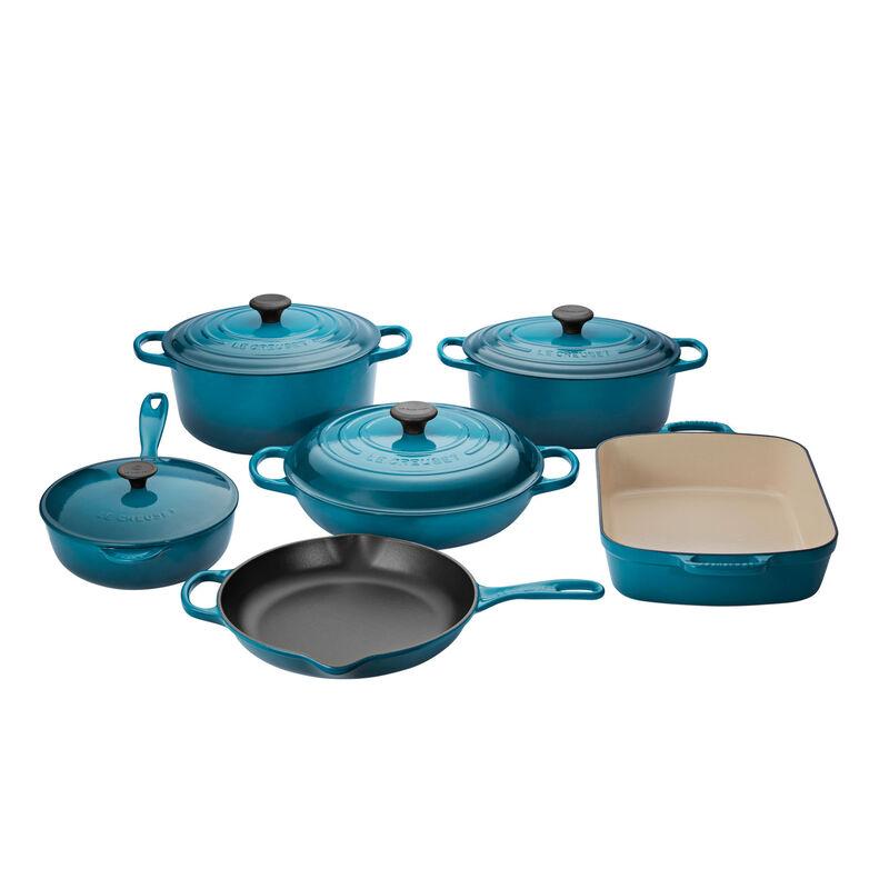 Cerise 2.25-Quart Le Creuset LS4101S-1867SS Enameled Cast Iron Rice Pot with Stoneware Insert